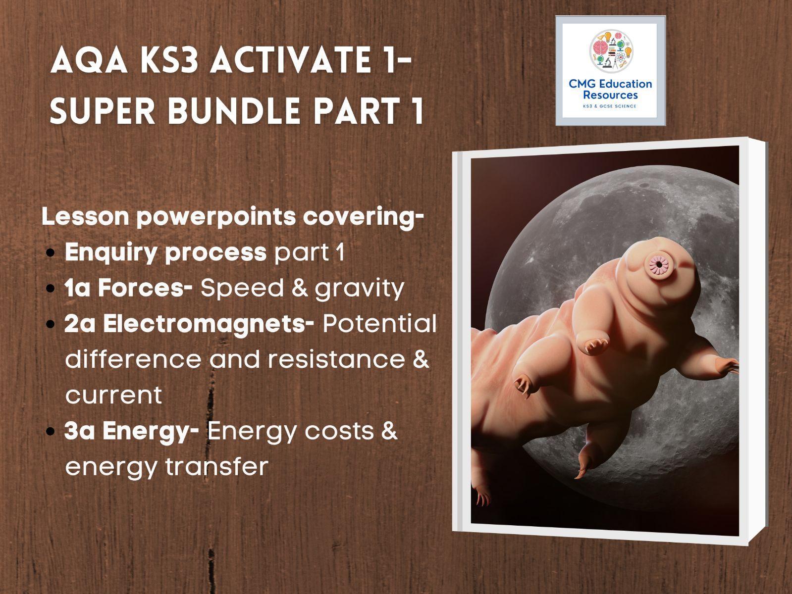 KS3 AQA Activate 1- Super bundle part 1