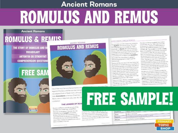 Ancient Romans - Romulus and Remus