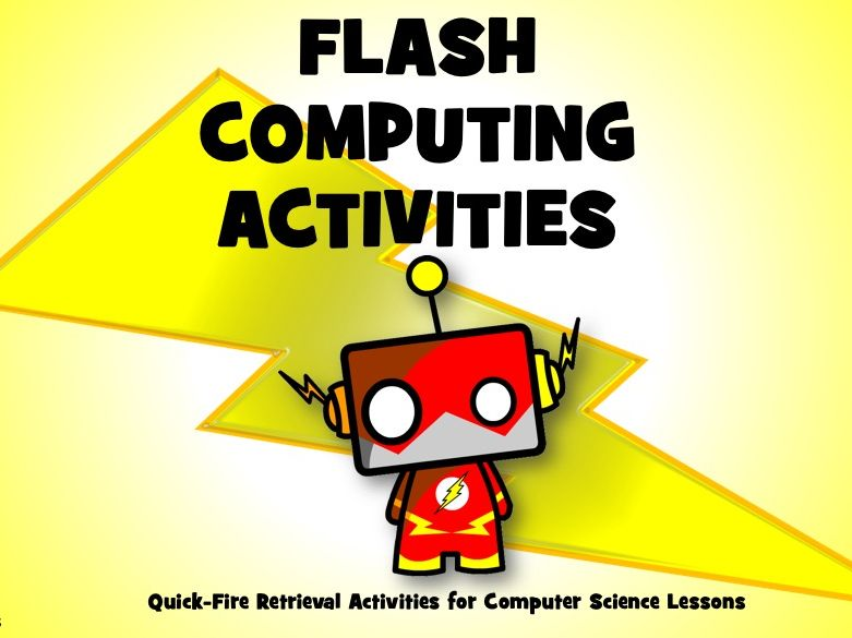 GCSE 9-1 Computer Science Flash Activity Sheets