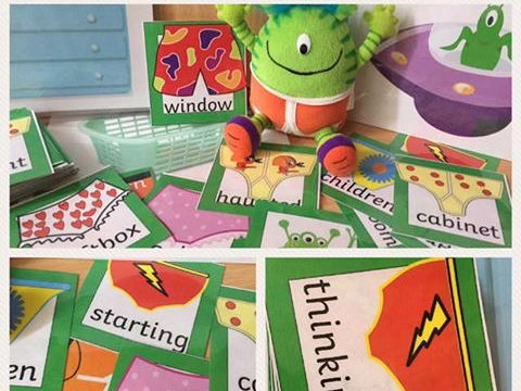 Aliens love underpants phase 4 phase 5 polysyllabic word game Year 1 phonic screen