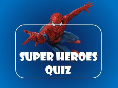 Summer 2017: Quiz: Superheroes