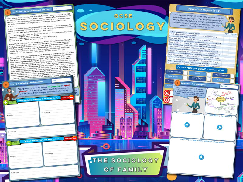 GCSE Sociology Workbook - Family