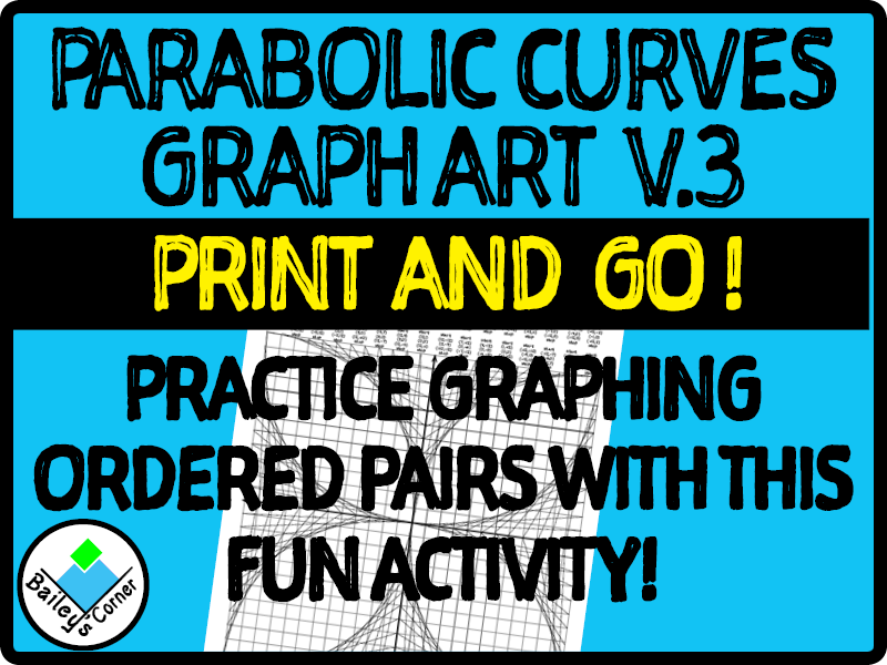 Parabolic Curve Graphing Activity