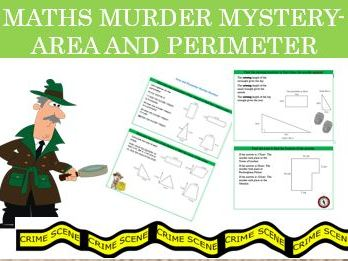 Maths Murder Mystery- Area and Perimeter