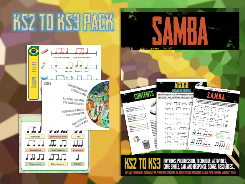Samba KS3-KS4 Pack
