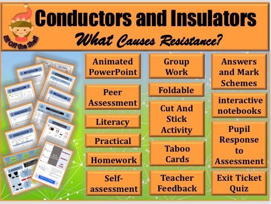 Electricity-Conductors and Insulators KS2