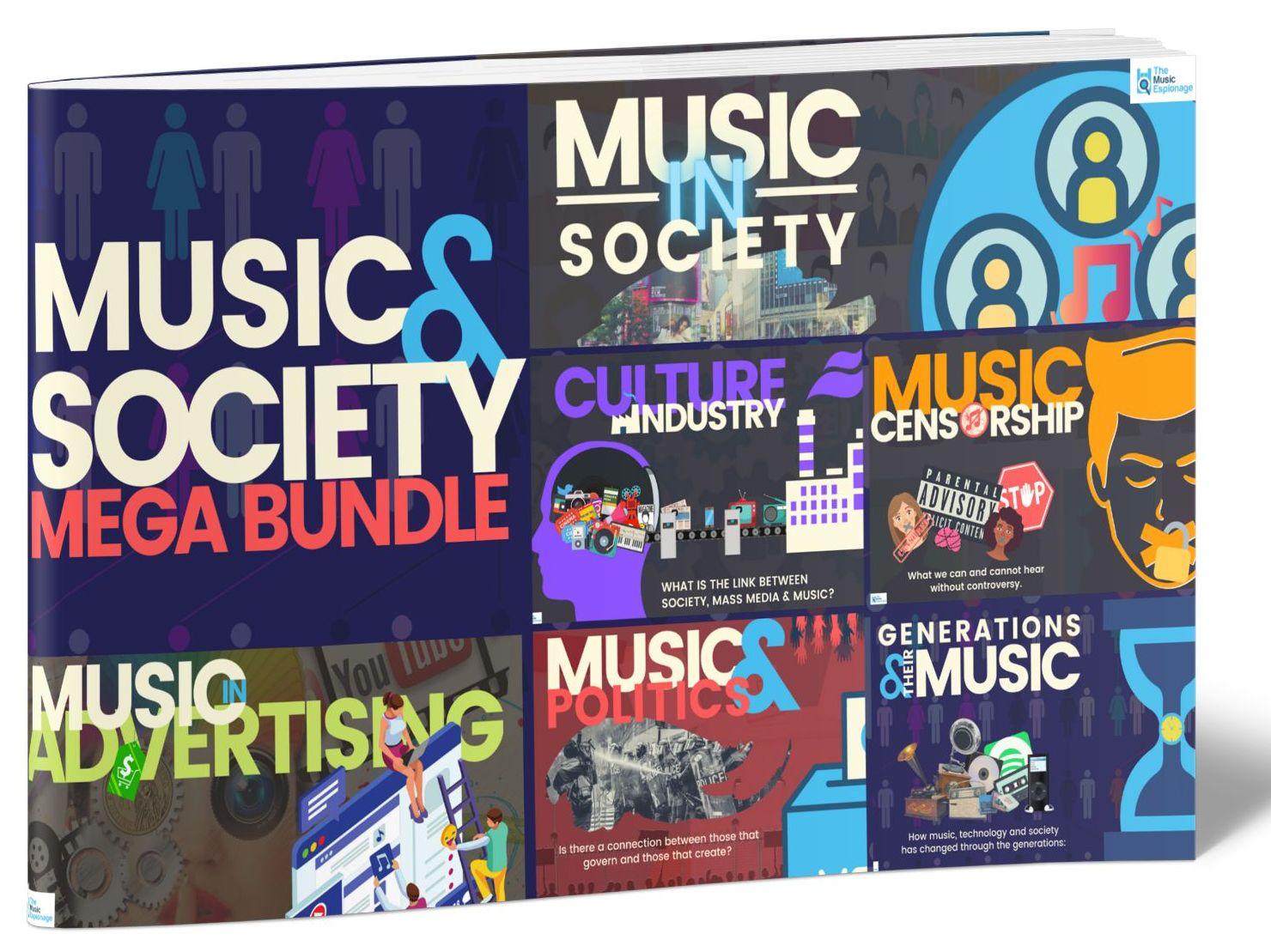 Music and Society- MEGA BUNDLE