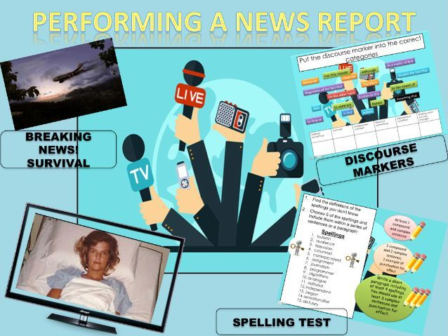 Writing and Performing a News Report