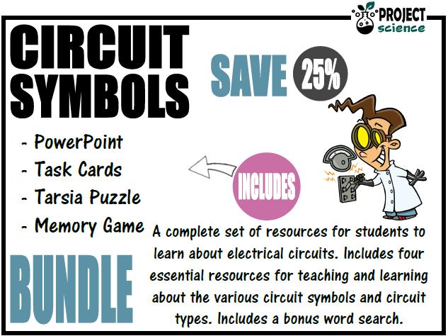 Electricity Circuit Symbols Bundle