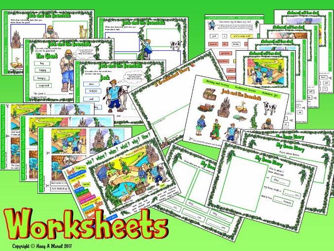 Jack and The Beanstalk KS1 – Worksheets