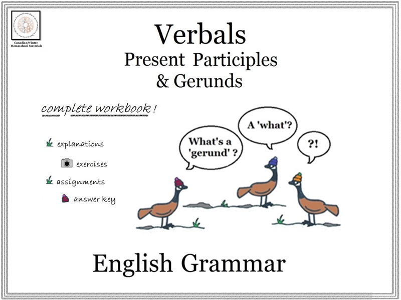English Grammar: Present Participles & Gerunds