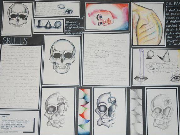 AO countdown plans for AQA GCSE ART & DESIGN