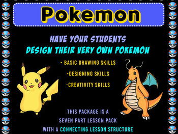 POKEMON Character Design Art Lesson Package [Connective]