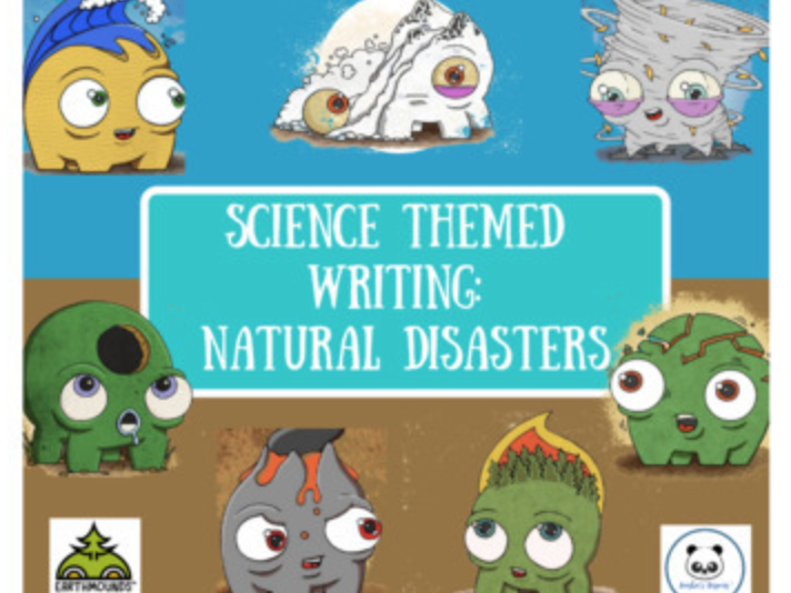 Natural Disasters: Science Themed Writing