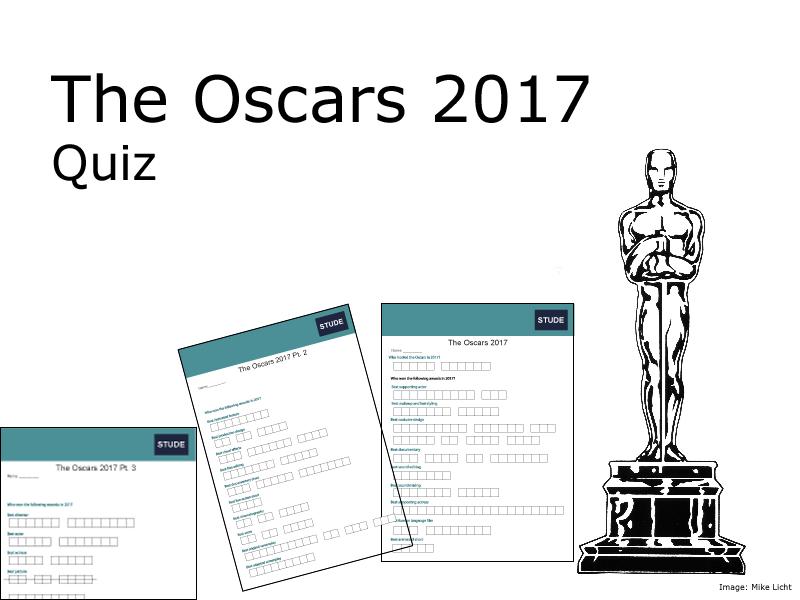 Oscars 2017 quiz