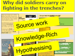 *FULL LESSON* Why did Soldiers Carry on Fighting in the Trenches? WWI KS3 KS4