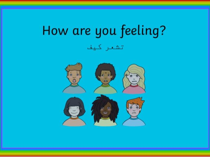 Emotions display - Arabic translate