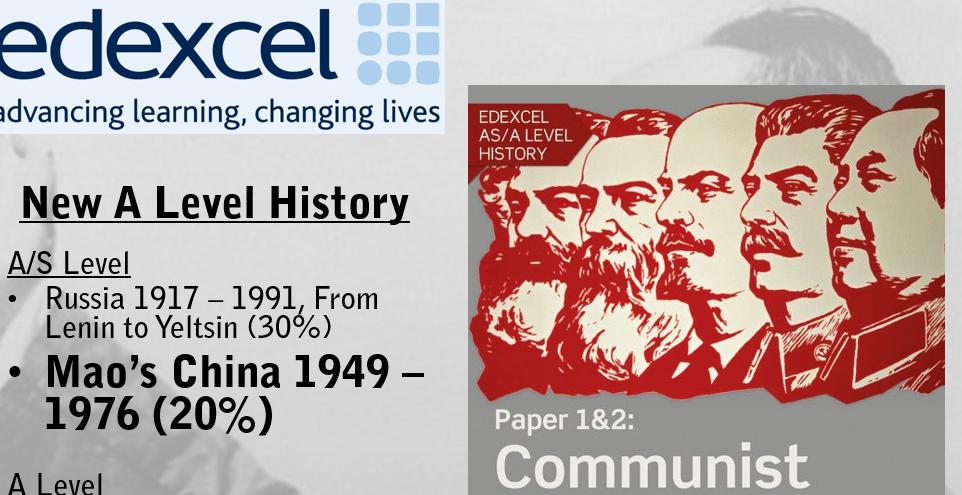 EDEXCEL ALEVEL 2.E Mao's China Part 1 - Establishing Communist Control