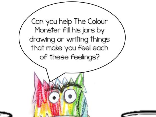 The Colour Monster Feelings Jar Activity