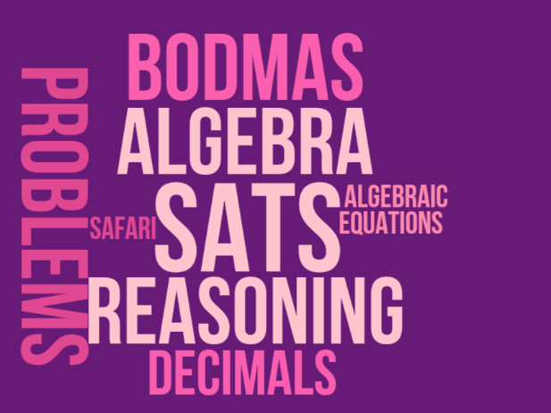 2017 (updated for 2018) KS2 (Year 6) Maths SATs revision - Arithmetic BODMAS and Algebra Safari