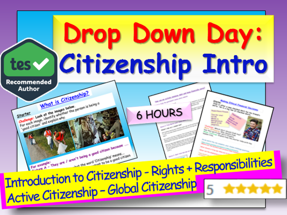 Introduction to Citizenship Drop Down Day