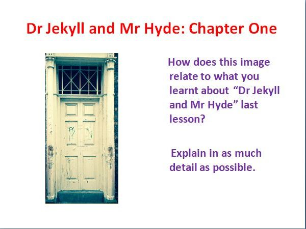 Dr Jekyll and Mr Hyde Graphic Novel