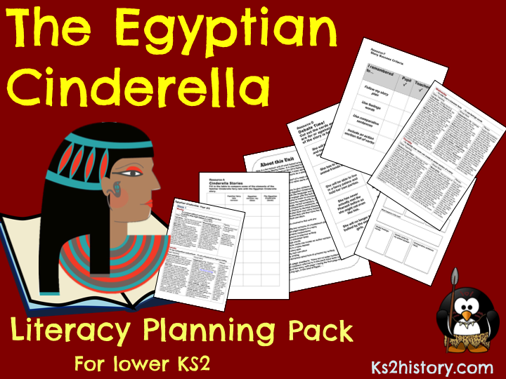'The Egyptian Cinderella'   Literacy Planning Pack