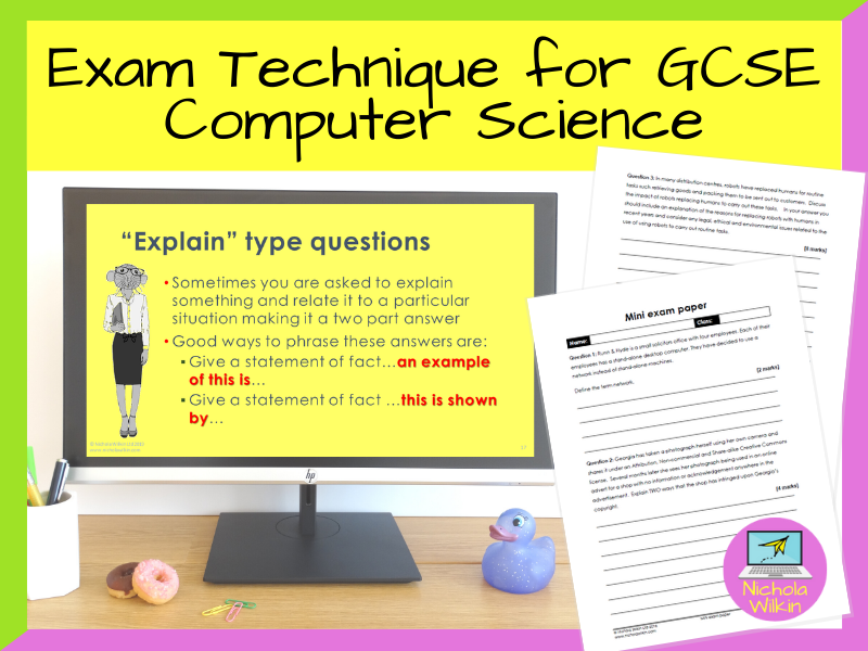 Exam Technique for GCSE Computer Science