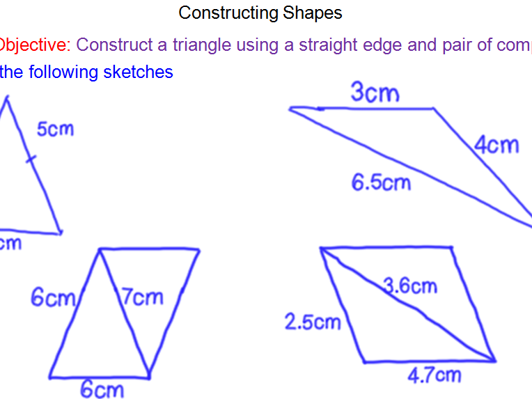 Constructions – Side, Side, Side