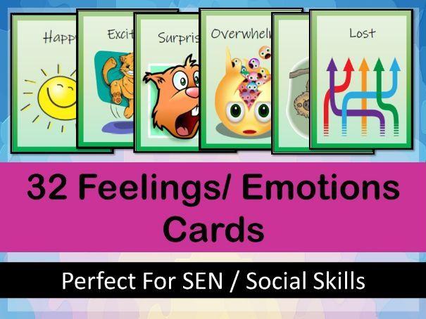 Feelings / Emotions Cards