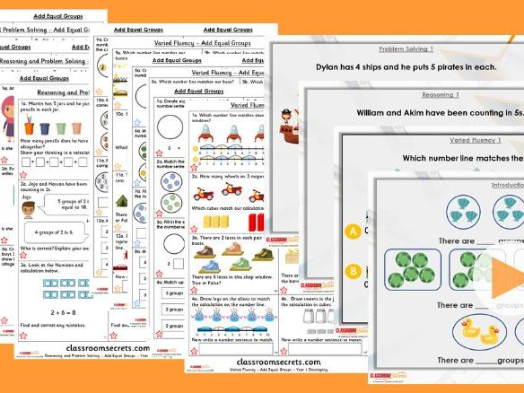 Year 1/2 Mixed Age Spring Block 1 Step 13 Lesson Pack