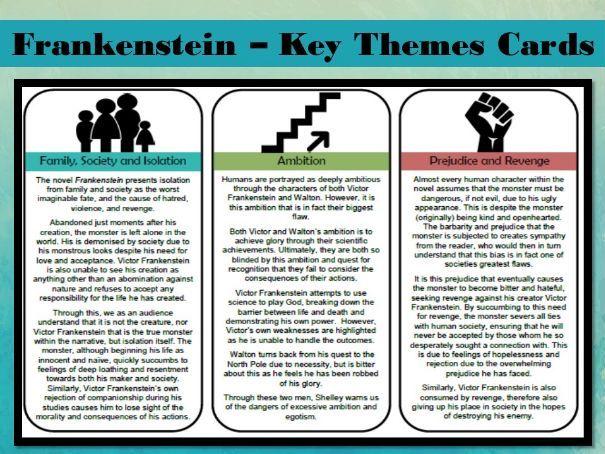 Frankenstein - Key Themes