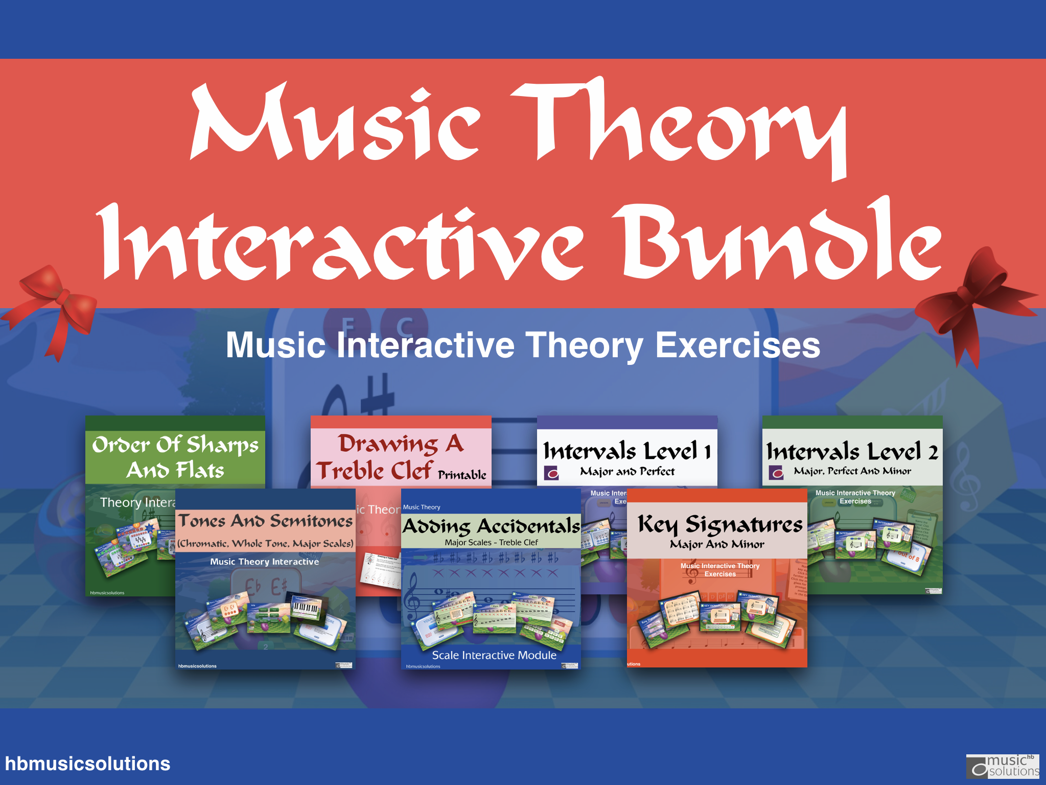 Music Theory Interactive Bundle