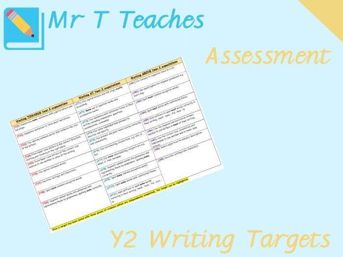 Year 2 Writing Targets Assessment