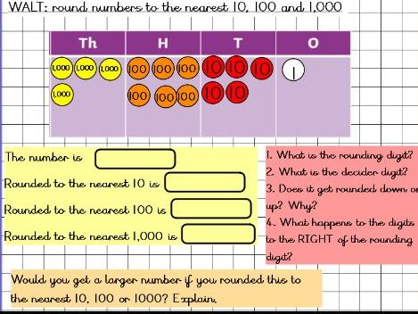 Year 5 Mastery rounding to 10, 100 and 1,000
