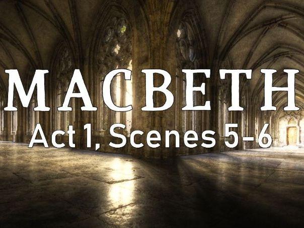 Line by Line: Macbeth (1.5-6)