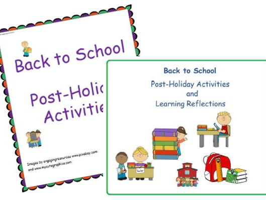 Back to school Bundle – Holiday Activities and Learning Reflections