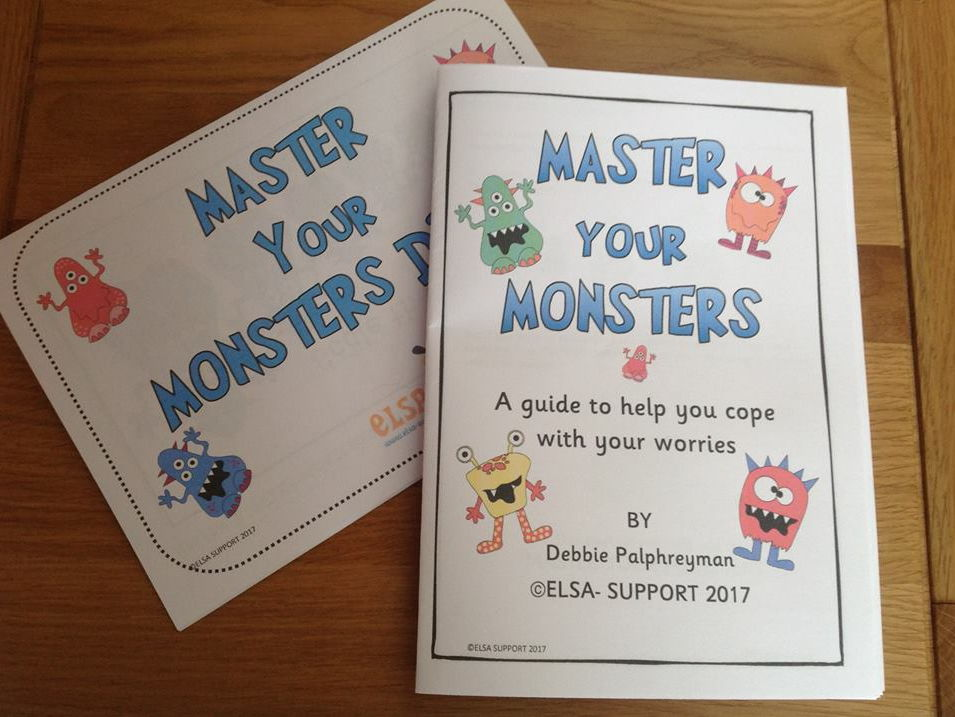 Master your Monsters - Anxiety/worries booklet and diary