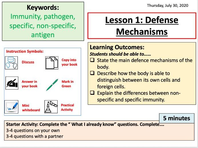 L1. Defence Mechanism