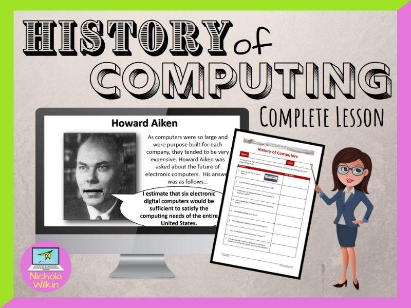 History of Computers (GCSE Computer Science and KS3 Computing)