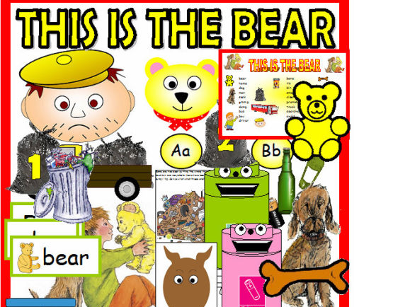 EYFS THIS IS THE BEAR STORY AND RECYCLING RESOURCE SET
