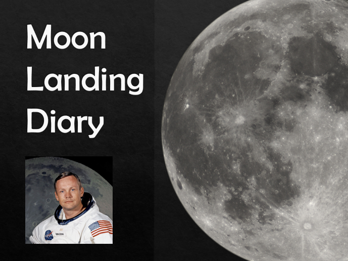 Moon Landing Diary Entry Example Text