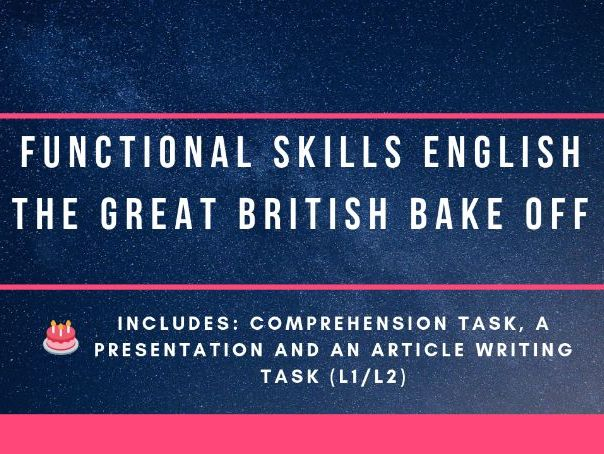 Functional Skills - article writing