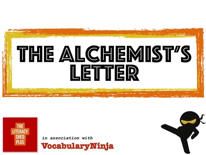 The Alchemist's Letter Vocabulary Pack