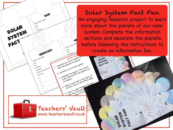 Solar System Fact Fan