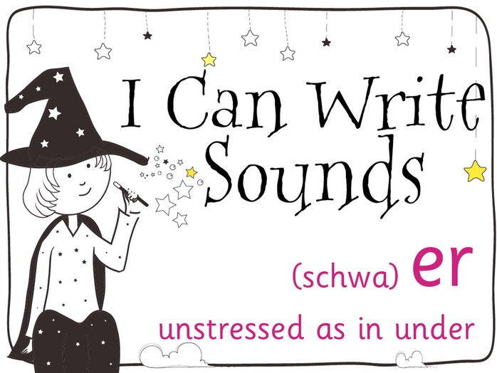 Magic Sounds Phonics Set 28 unstressed er (schwa) (as in under)