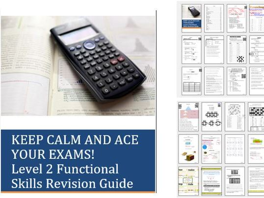 Functional Skills Maths Keep Calm and Ace the Exam L2