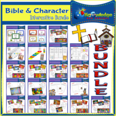 Bible & Character Interactive BUNDLE