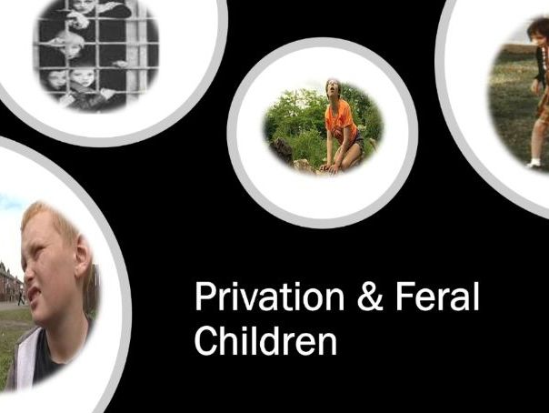 Privation & Feral Children - Genie & Czech Twins - AQA - A Level - Psychology