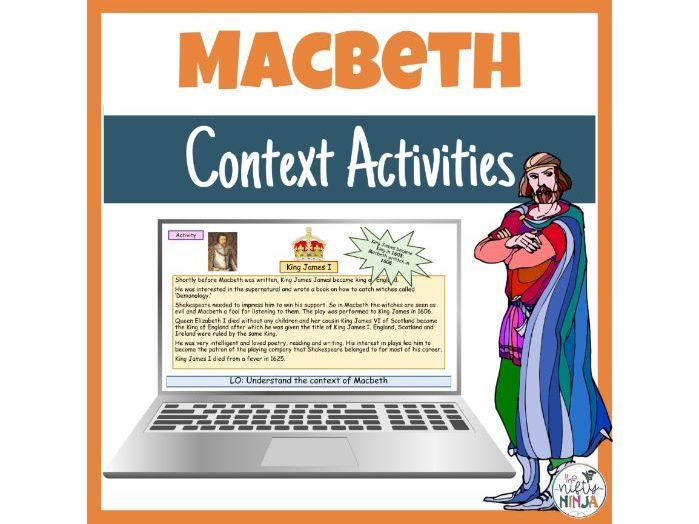 Macbeth   Context Activities